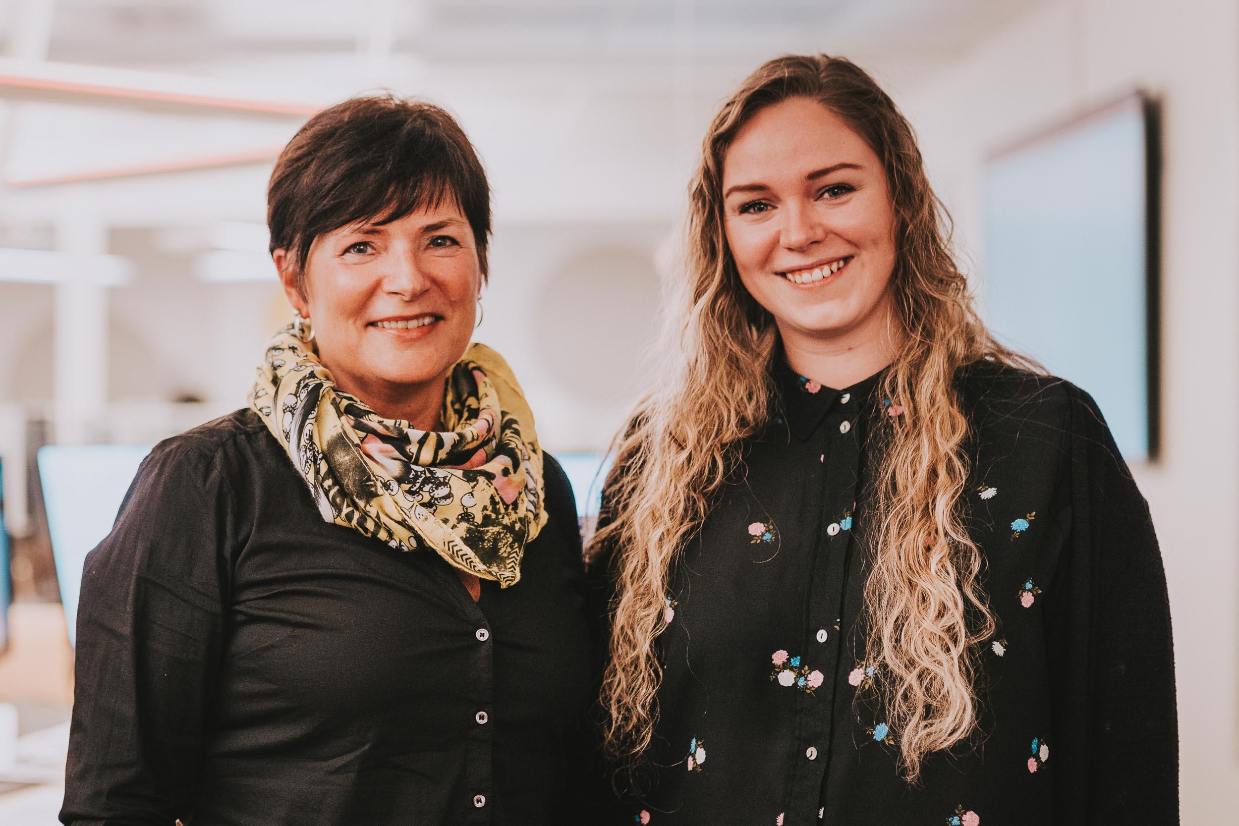 Mona og Marie i Troms Kraft Nett