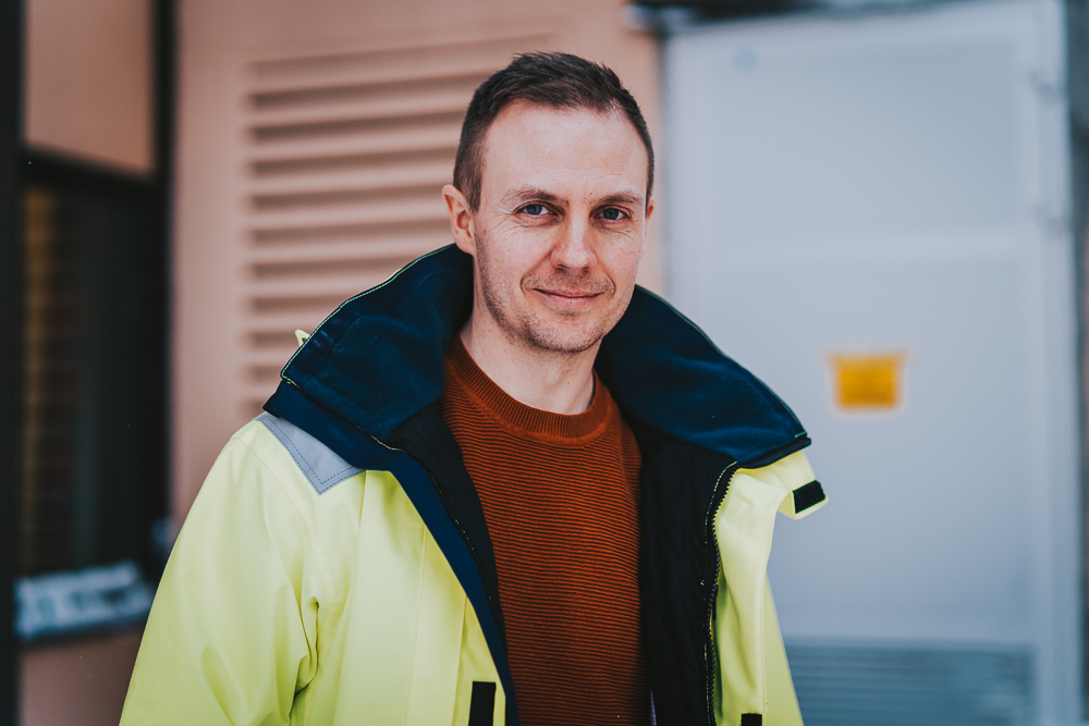 Øivind er kraftnettplanlegger i Troms Kraft Nett